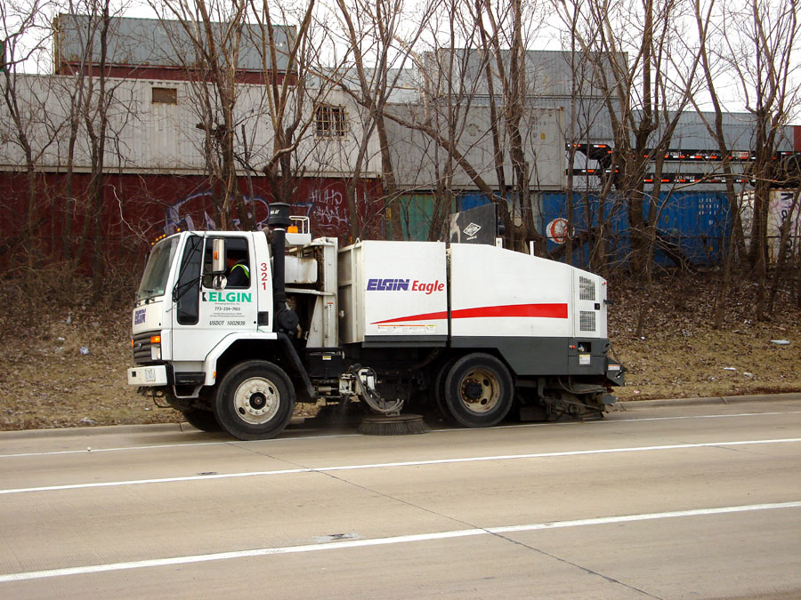 Commercial, Industrial Sweeping